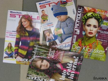 Revije za pletenje in kvačkanje