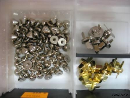 Špice, magneti za oblačila in torbice